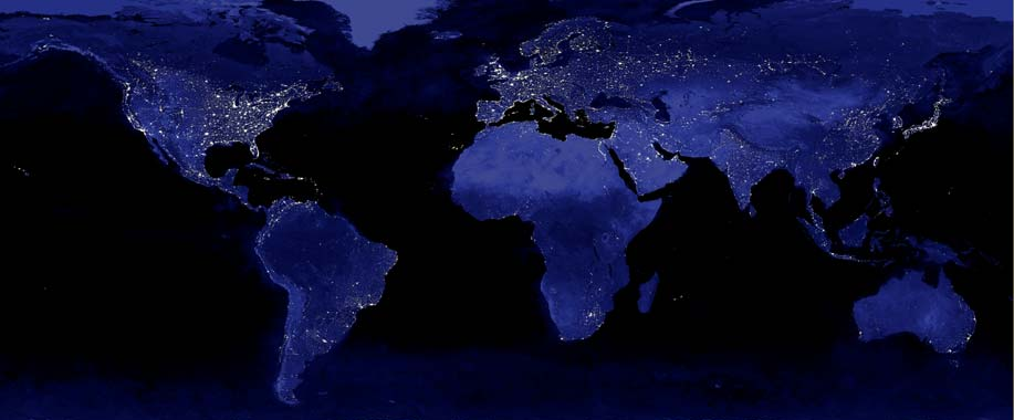 x 11 from space nasa earth at night - photo #35