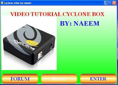 CYCLONE BOX VIDEO TUTORIAL