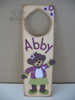 Build-A-Bear Door Hanger