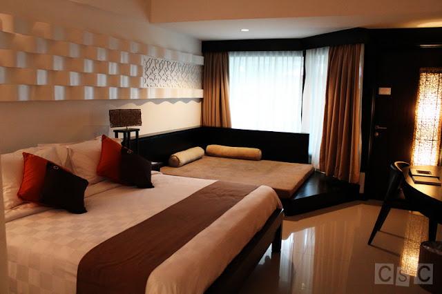 Bintan Lagoon Resort room interior