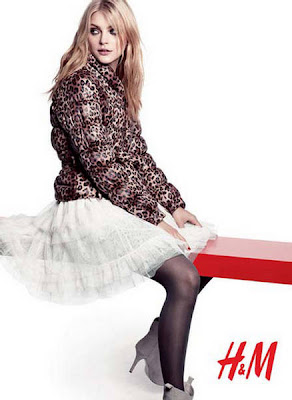 Jessica Stam on H&M Fall Winter pictures