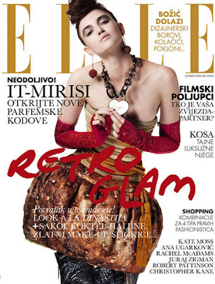 Kristina Brkic Photo Shoot for Elle Croatia Magazine