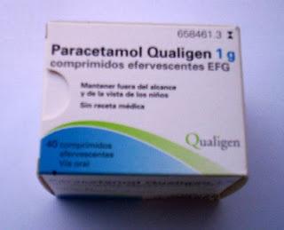 medicamento generico paracetamol efervescente
