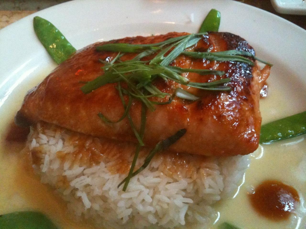 The Pescetarian Eats: Miso Salmon @ The Cheesecake Factory