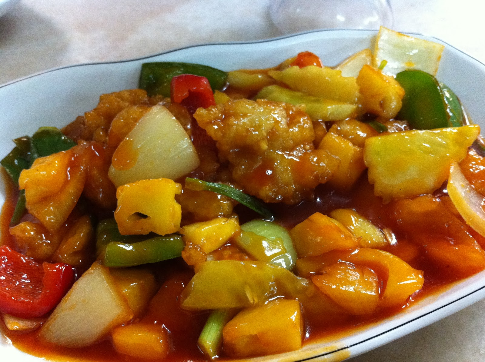 Admirable The Pescetarian Eats Fried Fish Fillet With Sweet Sour Home Remodeling Inspirations Cosmcuboardxyz