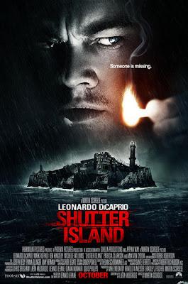 Leonardo DiCaprio Shutter Island - affiche du film