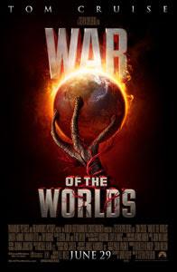 Cartel original de La guerra de los mundos
