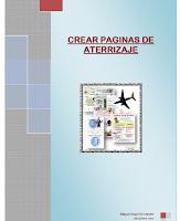 Crear páginas de aterrizaje