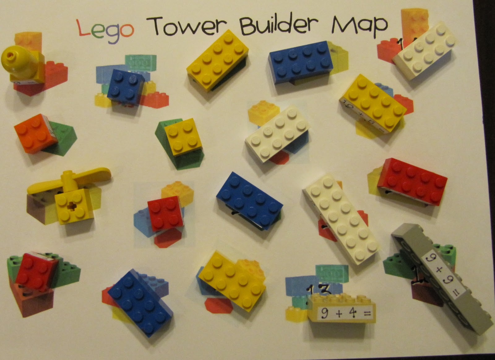 Mrs Samuelson S Swamp Frogs Lego Tower Math Game