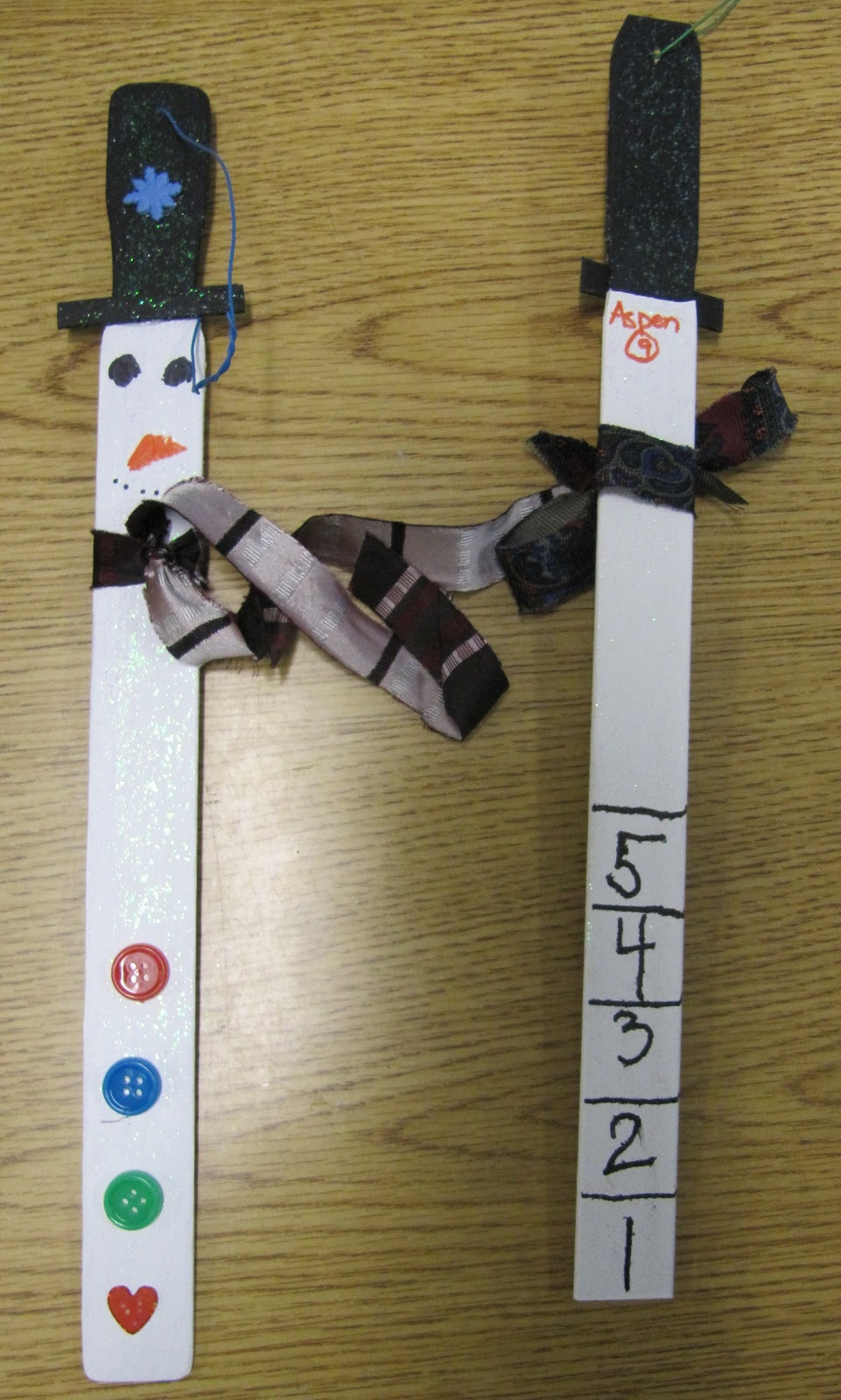 I Have The Most Awesomest Talented Selfless Wonderful Mother On Planet Well In My Opinion Of Course She Sent Snowmen Measuring Sticks For Cl