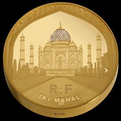 Taj Mahal Gold Proof Coins Lunaticg Coin