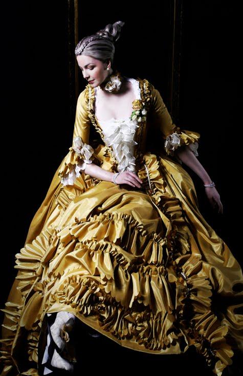 juliayunwonder: 1700s french fashion