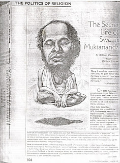 The Secret life of Swami Muktananda, The Coevolution Quarterly, Winter 1983