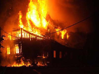 Kebakaran Pagaruyung