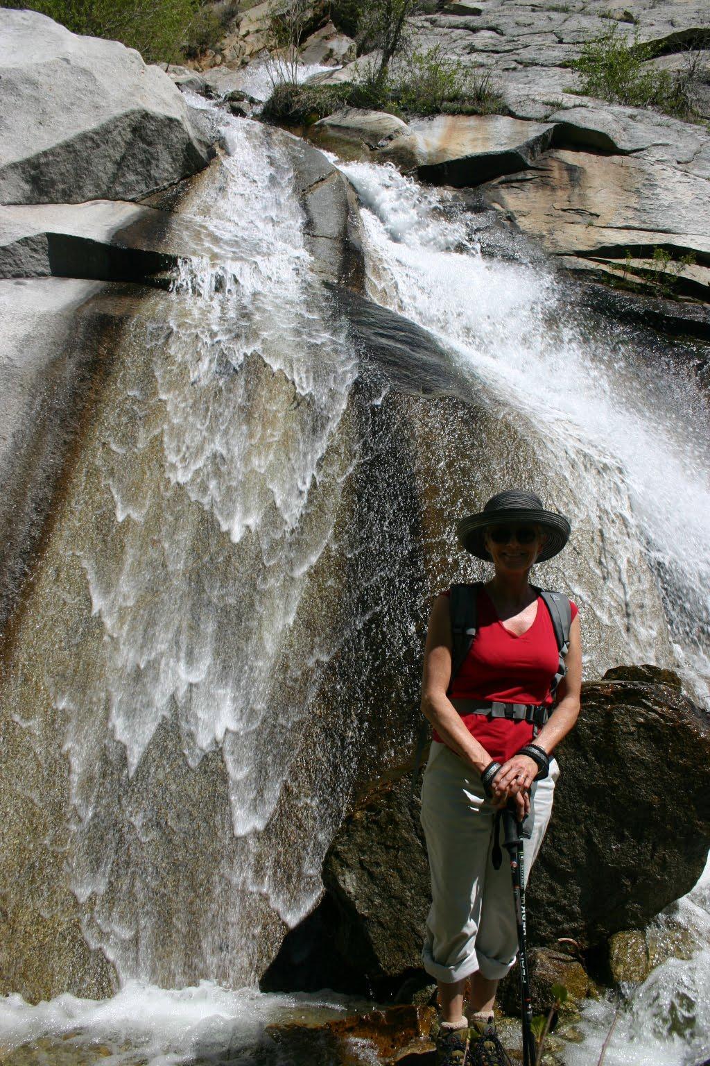 Waterfall Hiking Lisa Falls Little Cottonwood Canyon