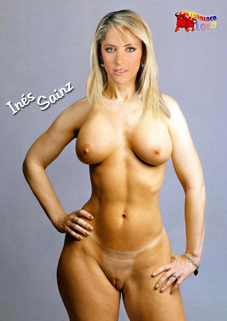 Naked Images Of Ines Sainz Mobile Optimised Photo For Android Iphone