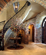 Lomonaco' Iron Concepts & Home Decor Tuscan Curved Stairway