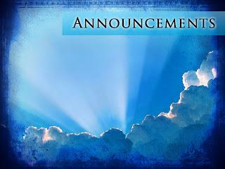 Church Announcement Slides From Sharefaith - Sharefaith ...