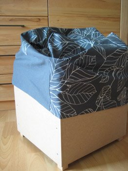 Ideas And Inspirations Ikea Hockerbezug Nahen Sewing A Fabric