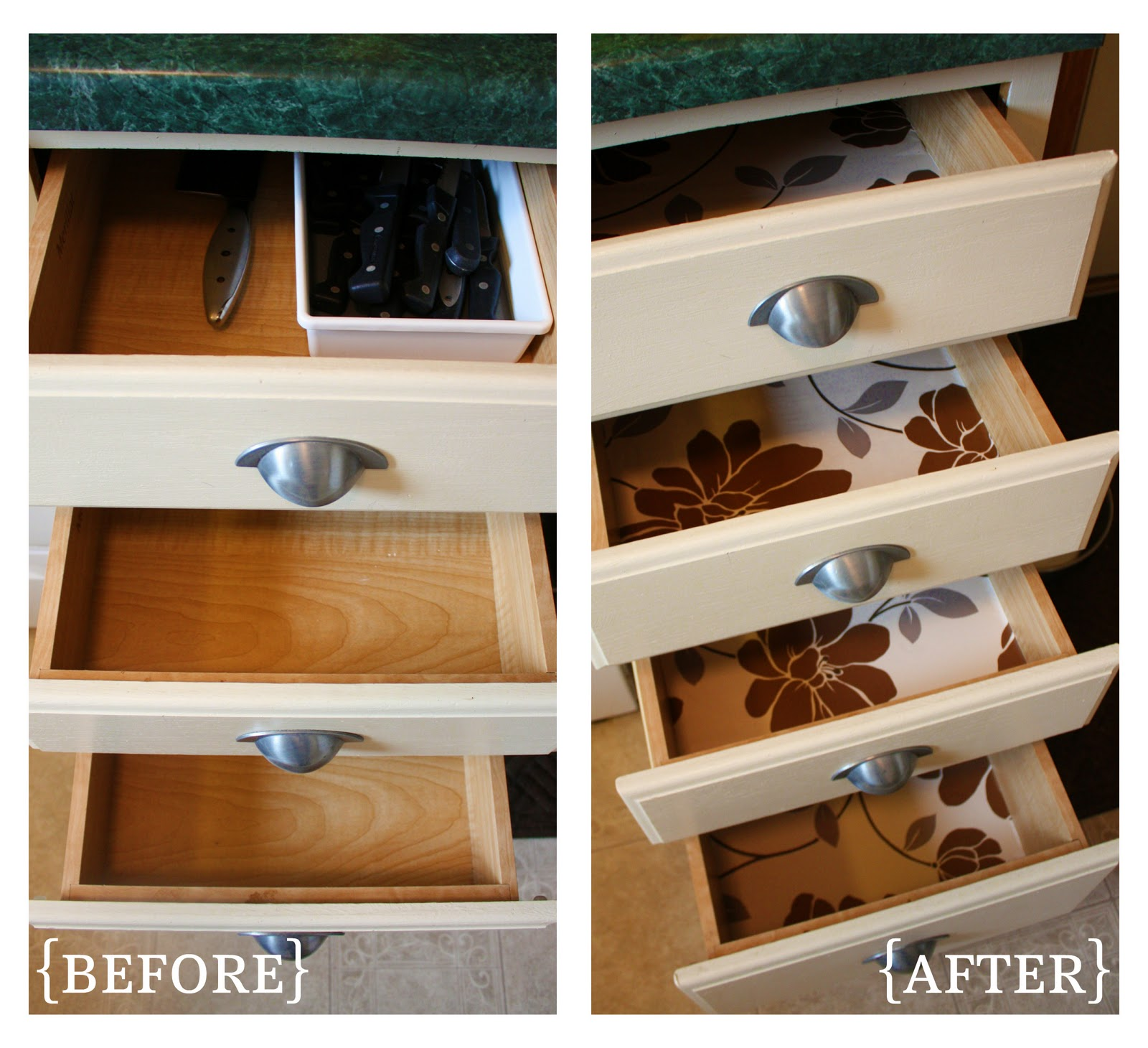 10 Tips For Perfectly Organized Kitchen Drawers The: IHeart Organizing: October Featured Space: Kitchen