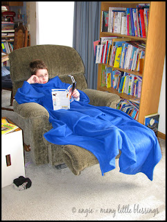 question and answer the snuggie