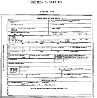 picture regarding Printable Birth Certificate Form named The Consistent Drip: Blank Start Certification Type - AKA Obama