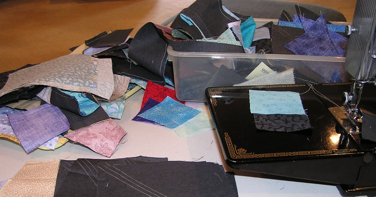Stitchin Therapy Work In Progress Jewel Box Scrap