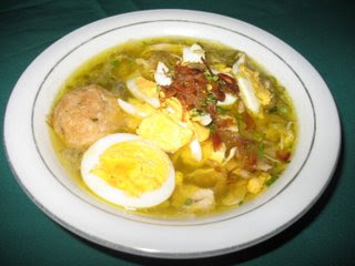 6 Makanan Khas Kalimantan Selatan Dan Keterangannya Adalah Soto