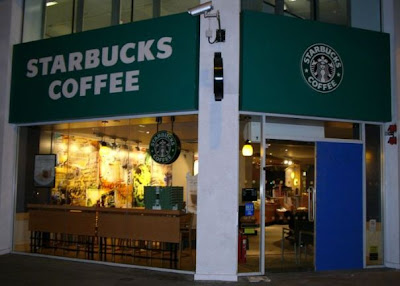 Whitechapel Starbucks after the alleged 'petrol bomb' attack