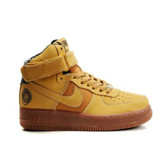 finest selection 0eec3 2089b Nike Air Force 1 High Premium Bobbito Edition Sanded Gold Wheat——Beautiful  Combination Of Colors