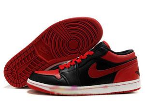 brand new ffa69 db1be Air Jordan 1 Retro Low Black Varsity Red-Jordan shoes collection