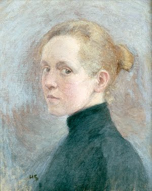It's About Time: Woman Artist - Self-Portraits - Helene Schjerfbeck ...  Selfportrait