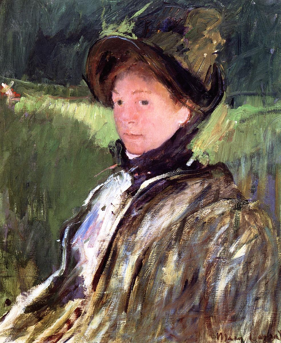 It's About Time: A few winter hats - Mary Cassatt 1844-1926
