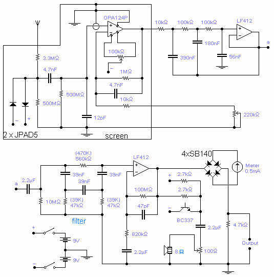 500 Circuits Ultra Low Frequency Receiver