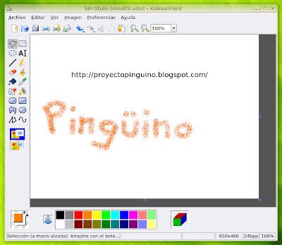 Aplicaciones de dibujo para Linux   Proyecto pingüino