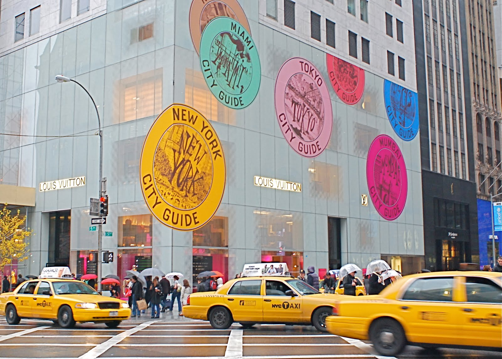 c260a38eeab NYC ♥ NYC  Louis Vuitton Flagship Store on Fifth Avenue - November ...
