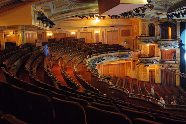 Nyc nyc broadway open house theatre tours winter - Winter garden theater seating chart ...