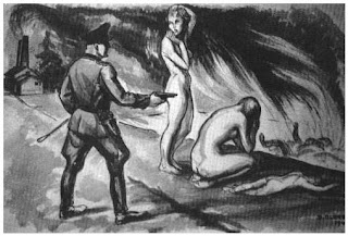 death camp females abused
