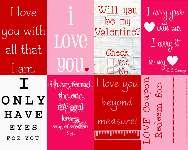 Simple Valentine Cards For Kids · One Good Thing by Jillee