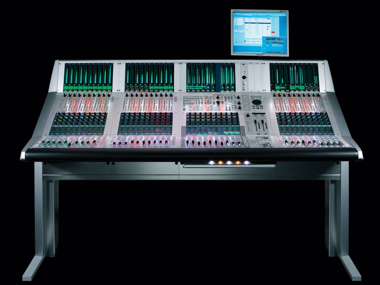 studer vista series digital consoles are the favorite of top talk show engineers harman. Black Bedroom Furniture Sets. Home Design Ideas