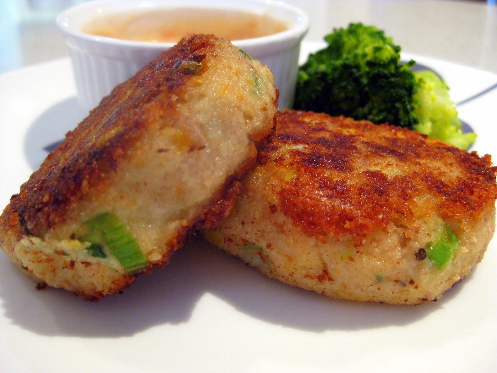 Tuna Potato Cakes Recipe