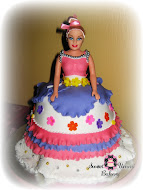 Barbie Doll - Fondant