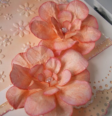 Julie S Inkspot How I Made My Flower Step By Step