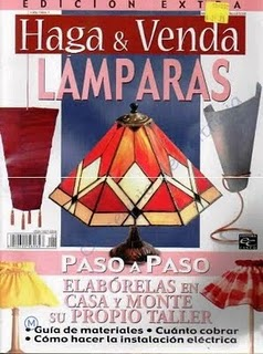 Revista: Haga & venda No. 1. Lamparas