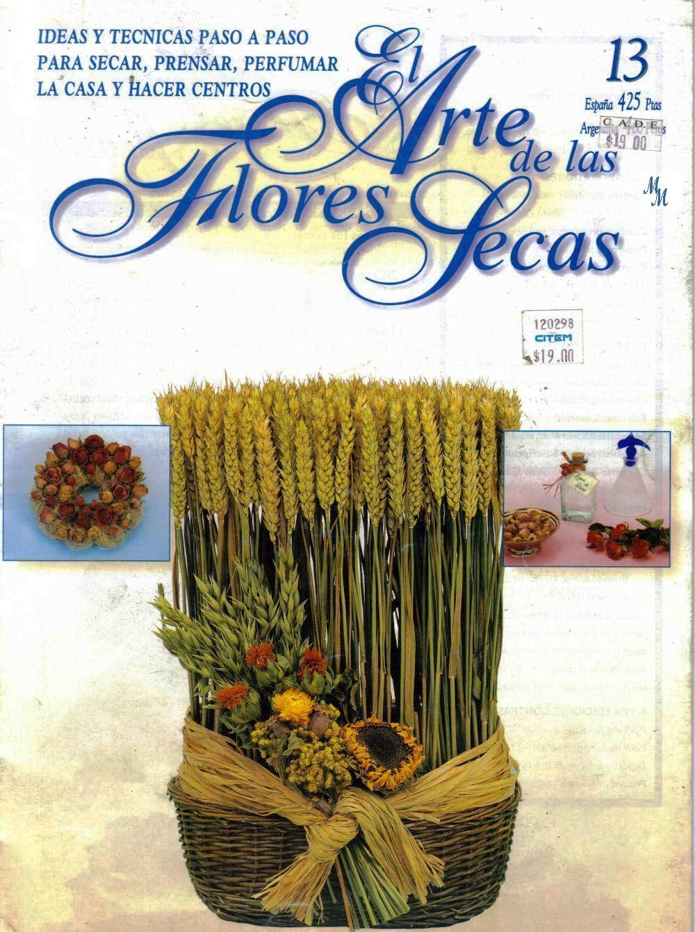Revista: El arte de las flores secas No. 13