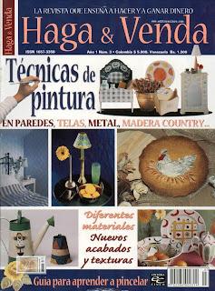 Haga y venda tecnicas de Pintura Nro. 3