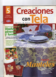 Creaciones Con Tela Nro. 5 Especial Manteles