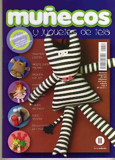 Revista: Revista: Muñecos y Juguetes de tela No. 22