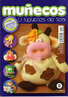 Revista: Muñecos y Juguetes de Tela No. 21