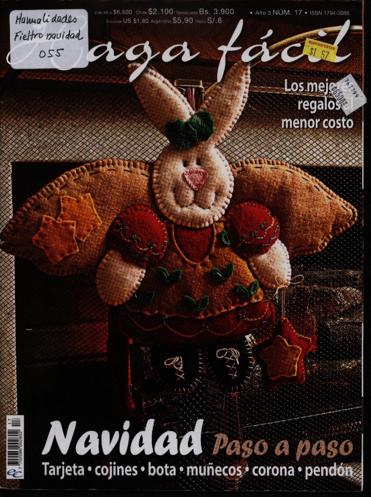 Revista: Haga fácil. Navidad